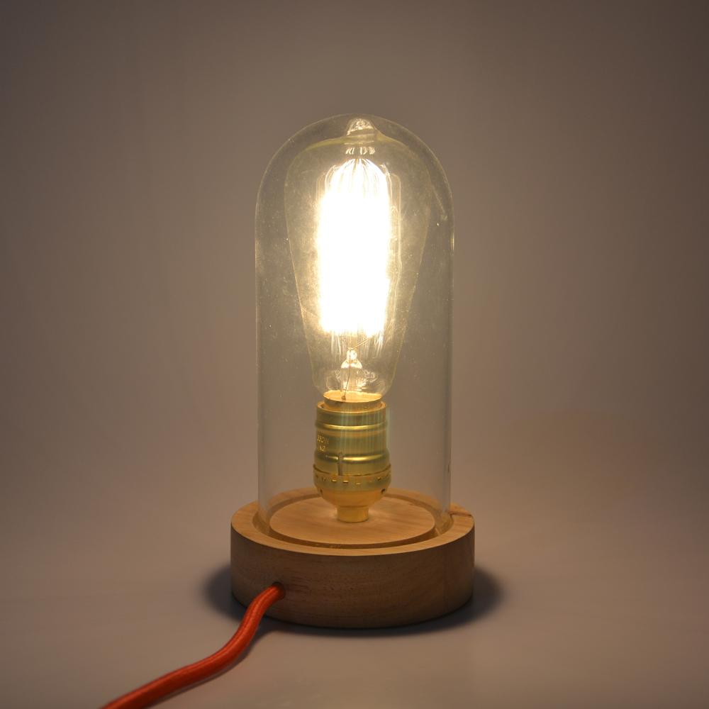 Vintage Personality Vintage Solid Wood Table Lamp Original