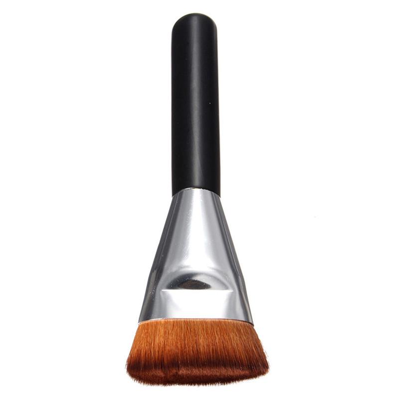 1PCS Beauty Flat Contour Professional Makeup Brushes Contour Brush For Foundation Blend Makeup Brush(China (Mainland))