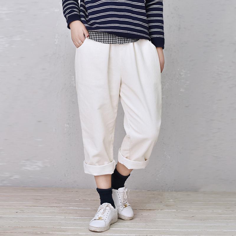 Popular Corduroy Pants Women White-Buy Cheap Corduroy Pants Women ...