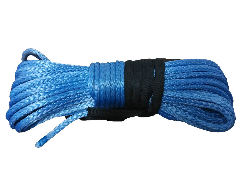 free shipping 8mm x 30meters UHMWPE Synthetic Winch Rope for offroad(China (Mainland))