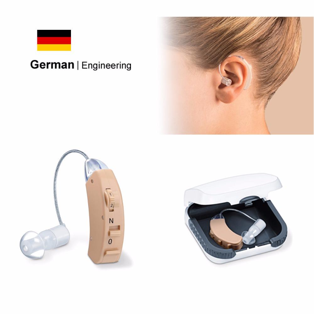 BTE Hearing Aid Elderly & Young Hearing Aids Sound Amplifier Better Resound Oticon Widex Phonak Siemens Hearing Aid