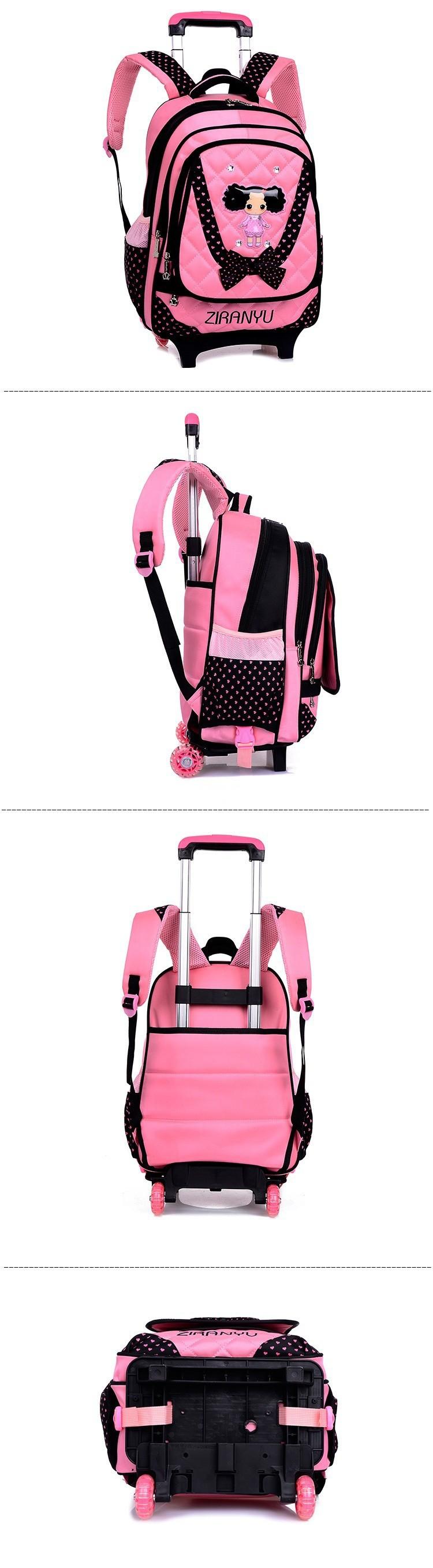 kids-wheeled-school-backpack-children-school-trolley-backpack-carton-pattern-rolling-luggage-kids-detachable-and-orthopedic-4