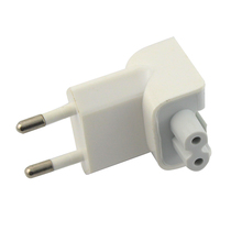 Wall AC Detachable Electrical Euro EU Plug Duck Head For Apple iPad iPhone For samsung USB Charger MacBook Power Adapter