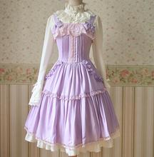 2015 Spring Autumn Chiffon dress camisole dress girl sweet Lolita dress on sale(China (Mainland))