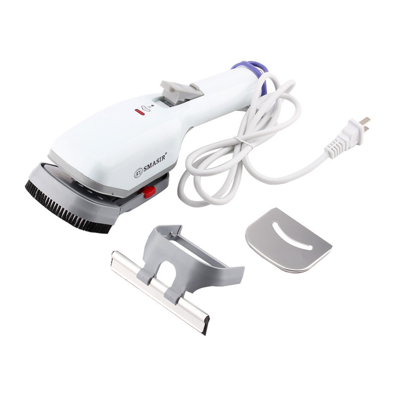 1Pcs AC 220V Home Handheld Fabric Iron Steam Laundry Clothes Electric Steamer Brush Portable Steam Iron Garment Steamer Home(Hong Kong)