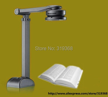 DHL/EMS free shipping portable book scanner, quickly scan books,it could set interval scan time and scan size, document camera(China (Mainland))