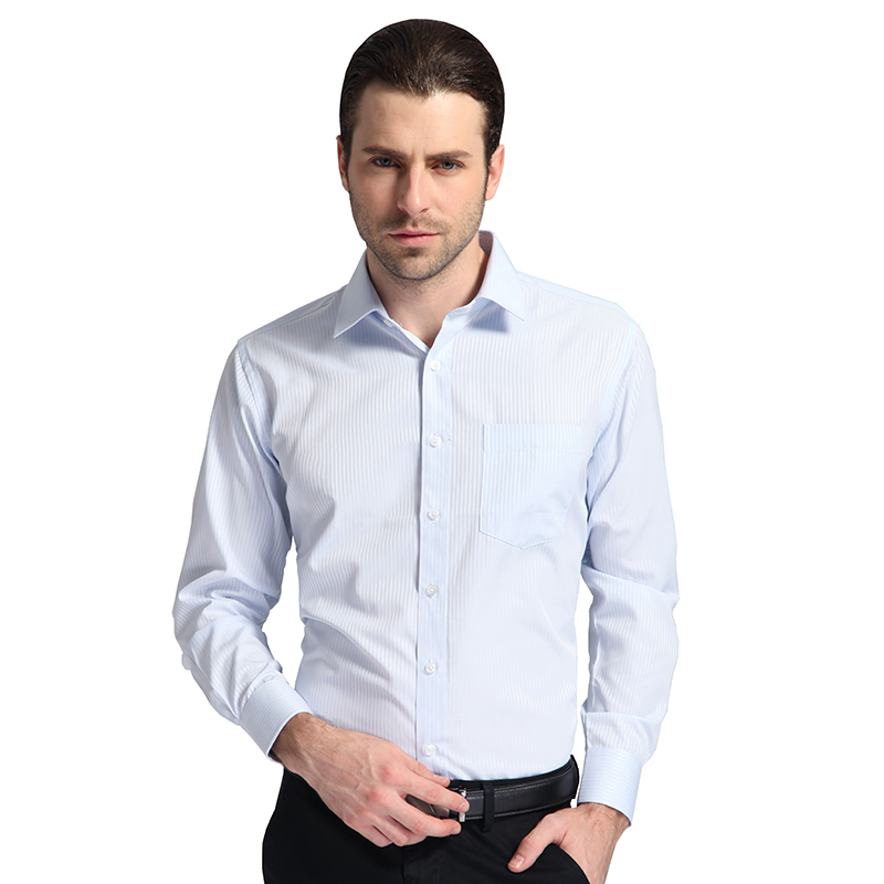 Buy autumn 2016 mens long sleeve blue Buy white dress shirt