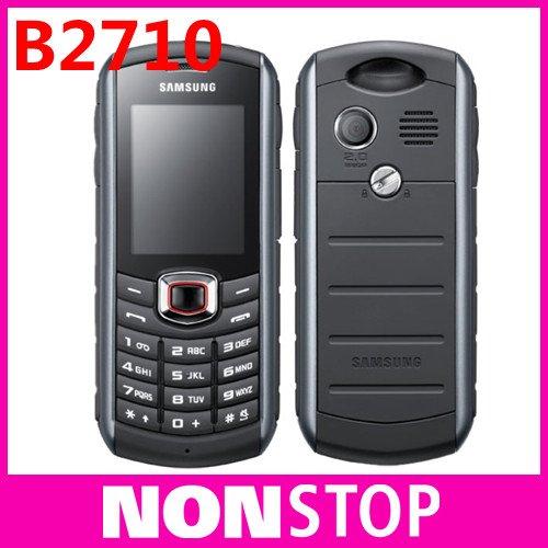 Unlocked Original Samsung B2710 waterproof Mobile phone 3G bluetooth A-GPS one year warranty Refurbished(China (Mainland))