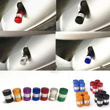 Universal 1SET/4PCS Auto Bicycle Car Tire Valve Caps Tyre Wheel Hexagonal Ventile Air Stems Cover Airtight rims Accessories