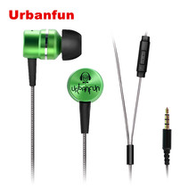 New URBANFUN Balanced Armature With Dynamic In-ear Earphone BA Driver Noise Cancelling In Ear Earphone(China (Mainland))