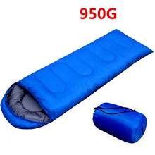 800G 950G Multifuntion Outdoor Camping Thermal Sleeping Travel Bag Envelope Hooded Sleeping Travel Bags Thick Warm Travel Bag