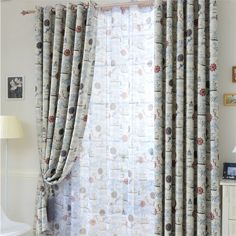 Nautical Window Curtains Promotion Shop For Promotional Nautical Window Curtains On