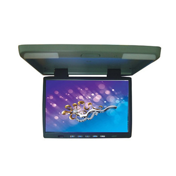 "Retail Top Quality Car DVD Player 15.4"" Flip Down TFT Car Roof Mount LCD Monitor CL-154 Free Shipping"