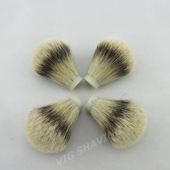 whole sale 20pcs/lot SilverTip Badger hair Shave Brush Knot 20/65mm