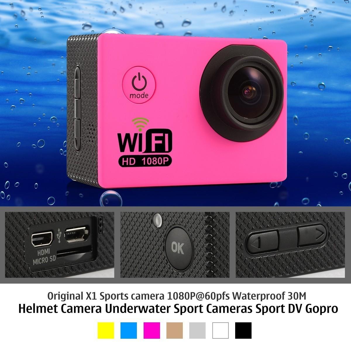 Xiaomi Yi Sport Action Camera Full HD 1080P 60pfs 30M Helmet Travel Diving DV Underwater Video Cam Camcorder  -  Bravo!! store
