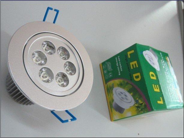 5*1W LED high power ceiling light,down light,AC110-220V input