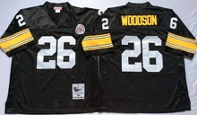 2017 New arrival #83 Miller #12 Terry Bradshaw #20 Rocky Bleier #32 Franco Harris #36 Jerome Bettis Throwback Pittsburgh(China (Mainland))