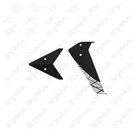 Syma F4 Helicopter Parts Tail Decoration(China (Mainland))