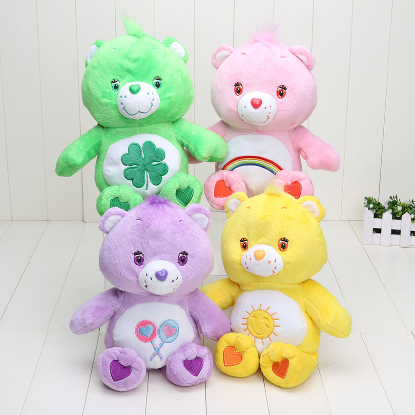 Wholesale 20pcs/lot 30cm care bears Plush toy Soft Stuffed toy doll children gift kids toys(China (Mainland))