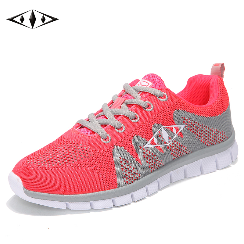 2016 Indie Pop Nice Women Sneakers Autumn Spring Outdoor Fashion Running Shoes Casual Sport Breathable Fly Wire Air Mesh fb010-3(China (Mainland))