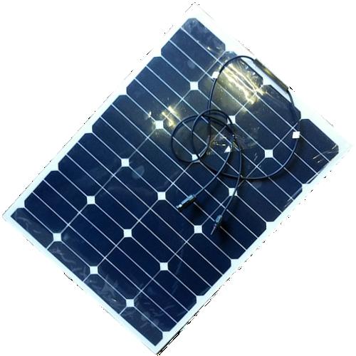 Здесь можно купить  60W Semi flexible solar pv module for 12v/24v battery system with regulator  Бытовая электроника