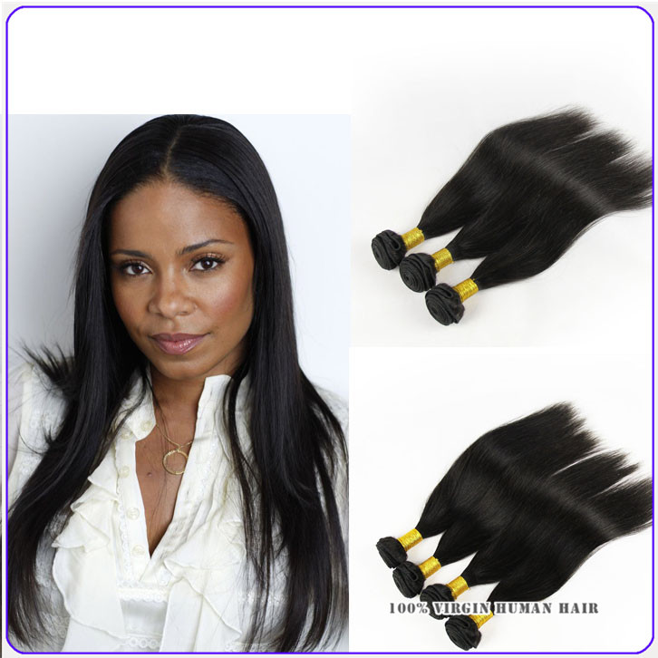 7a Cambodian Virgin Hair Straight 4 Piece Lot 100g/3.5 Oz Unprocessed Virgin Hair Extensions Aliexpr