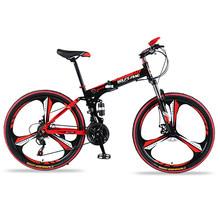 21 скорость 26 дюймов складной велосипед велосипеды двойной дисковые тормоза складной горные велосипеды студент велосипед Bicicleta road bike(China)
