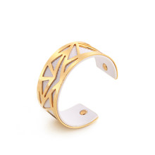 SKYRIM 16 Colors Cuff Bangle Leather Sliver Gold Bracelet Georgette Indian Jewelry Pulseiras Love Bangles for Women Femme(China)