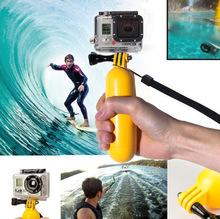 Gopro Accessories Floating Monopod Bobber selfie stick Hand Grip Mount Tripod For Camera Go Pro Hero 2 3 4 Sj5000 SJ6000 Sj4000