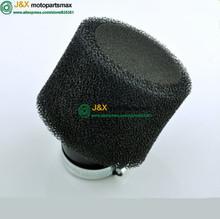 Black Air Filter Foam 38mm Double Dual Pit Dirt Bike Foam 125 ATV Quad(China (Mainland))