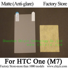 Matte Anti glare Frosted LCD Screen Protector Guard Cover Protective Film Shield For HTC One M7 801e 801s 801n 802d 802w 802t