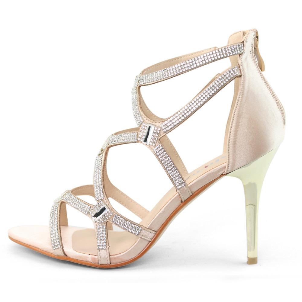 Gladiator Silver Heels