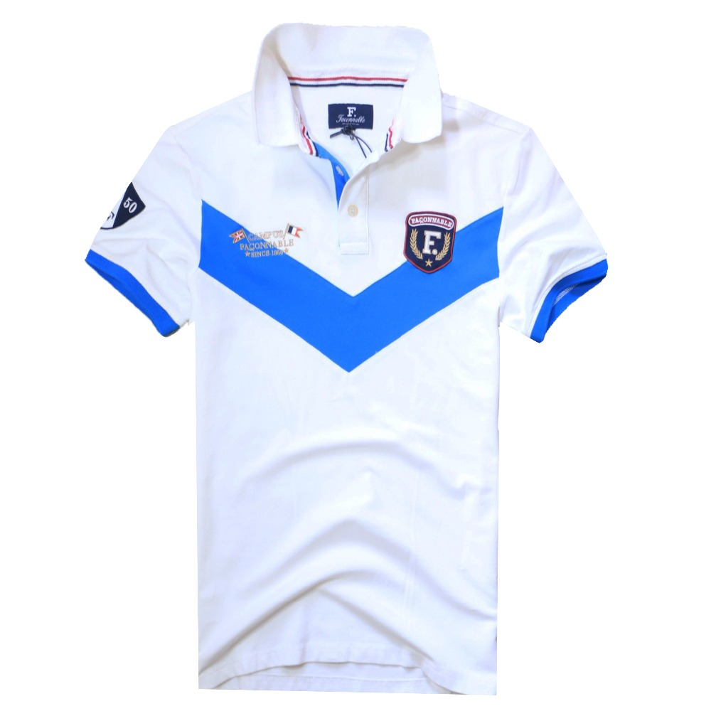 Online buy wholesale faconnable from china faconnable for High quality embroidered polo shirts
