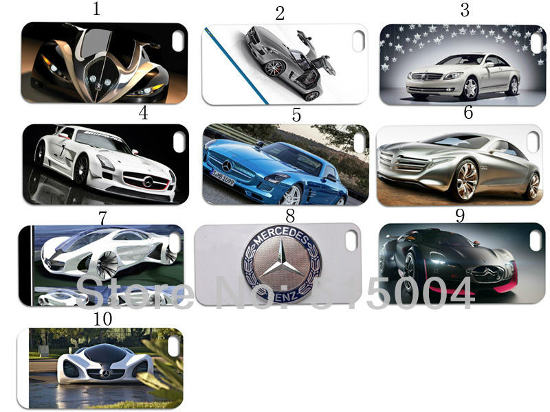 Hot!2013 arrival Concept Box mercede car style cases for iPhone4 4s sport car case for iPhone 4 15pcs/lots +free shipping(China (Mainland))