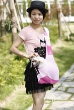 summer wear breathable pet sling carrier