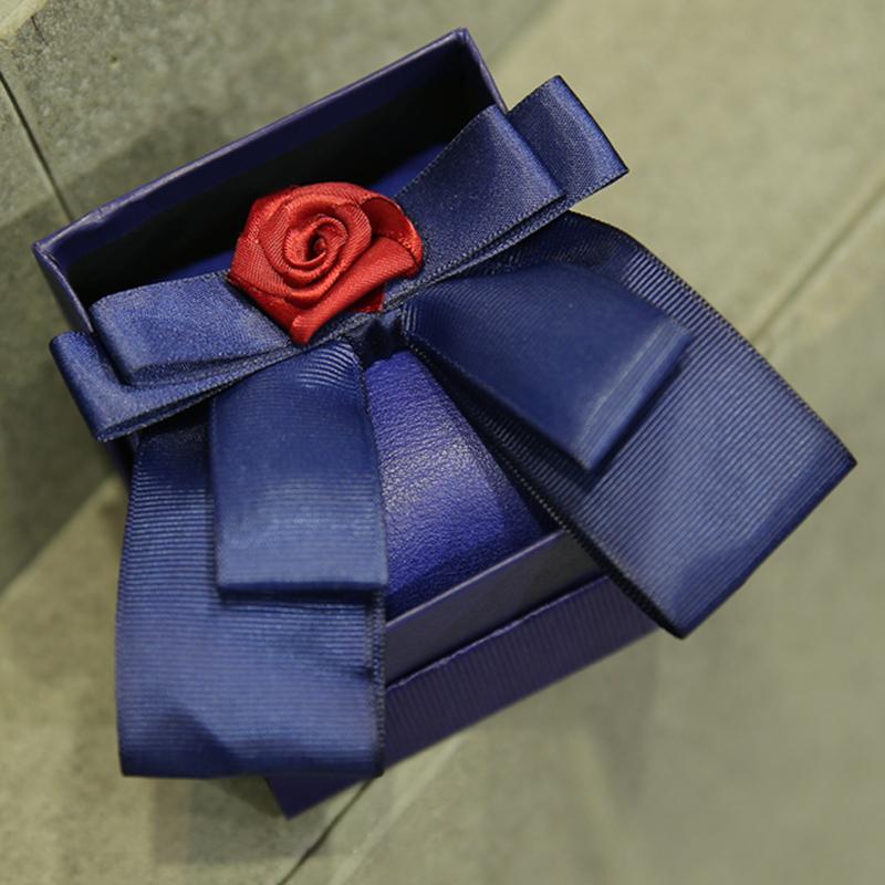 designer ties men edhz  Fashion Men's Brand Designer Red Flower Royal Blue Bow Ties For Cool