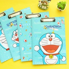 Hot sale sweet design good quality wholesale Machine Cat series Folder board with clipFile boardFiling Products supplies .cute(China (Mainland))