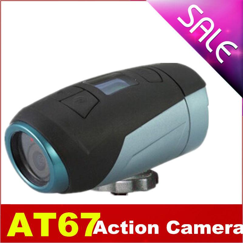 Mini Camera HD 1080P AT67 IP68 Waterproof 10M Digital Motorcycle Helmet Video Camera Outdoor Bike Bicycle Action CAM DV DVR(China (Mainland))