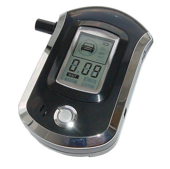 Frete grátis Melhor qualidade Polícia Prefessional MIni Digital LCD Respiração Alcohol Tester Bafômetro Detector ferramentas de diagnóstico