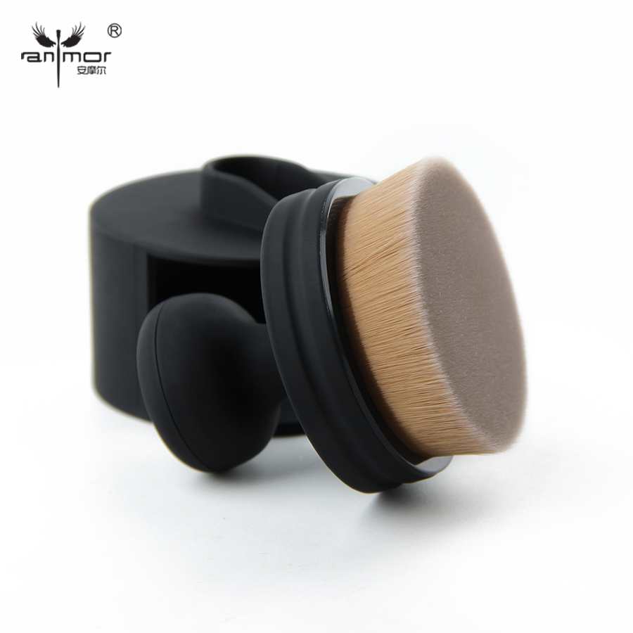 New Arrival Foundation Brush Unique Design Makeup Brushes High Quality Round Make Up Brushes For Liquid Cosmetic Products(China (Mainland))