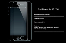 Hot Premium Explosion Proof Tempered Glass Screen Protector For iPhone 5 5S Reinforced Guard Protective Film & Retail Package