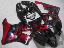 Buy Motorcycle Fairing kit for HONDA CBR900RR 919 98 99 CBR 900RR CBR900 1998 1999 ABS Red flames black Fairings set+7gifts HG11 for $359.00 in AliExpress store
