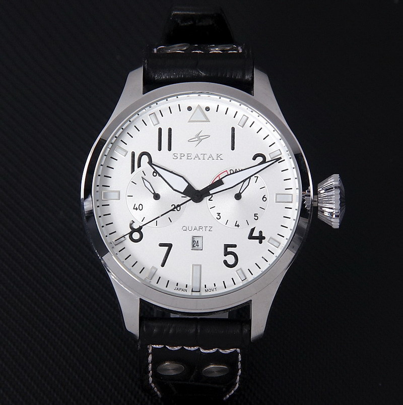 Leather watch black band mens fashion clock luxury brand male silver stainless steel quartz watch gift items free shipping<br><br>Aliexpress