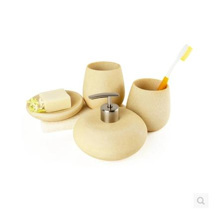 Decotalk nordic style bathroom set resin bathroom supplies for G style bathroom accessories