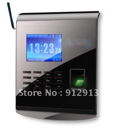 Free Shipping!! Wholesale New Fingerprint Time Clock with GPRS KO-M10(China (Mainland))
