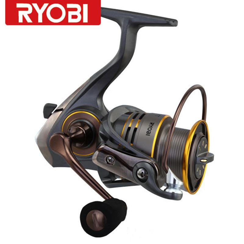 Здесь можно купить  Free Shipping Original100% RYOBI SLAM 6BB molinet carretilha de pesca cheap spinning fishing reelmoulinet peche coil Japan  Спорт и развлечения
