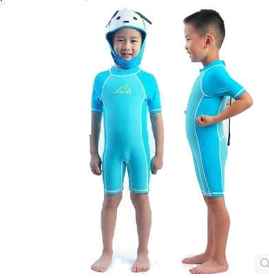Hot sale Kids wetsuit bodyboard Windsurfing swimming diving suit one piece surfing wetsuits free shipping children bathing suit<br><br>Aliexpress