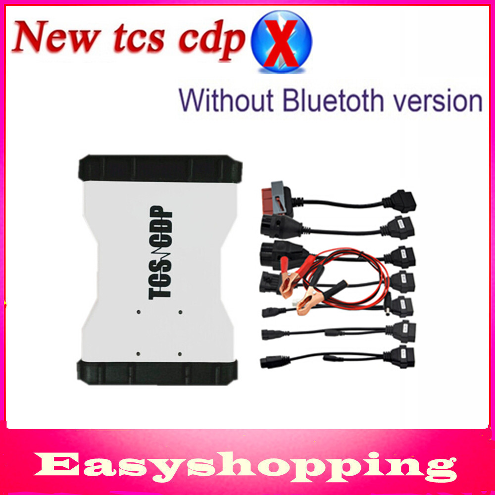 2014.2 Keygen White color TCS CDP PRO PLUS Led obd cable +Car Cables diagnostic Equipment Bluetooth DHL Free - Shenzhen Easyshopping Electronic Co., Ltd. store