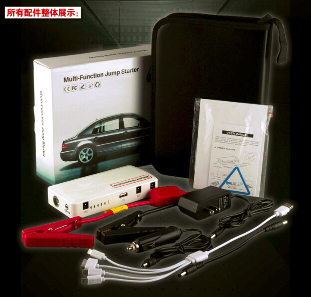 portable 12V 30000mah auto jump starter car power bank charger free shipping<br><br>Aliexpress