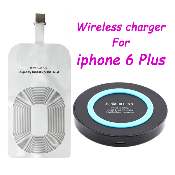 Newest Qi Wireless Charging for iPhone 6 Plus Wireless Charger